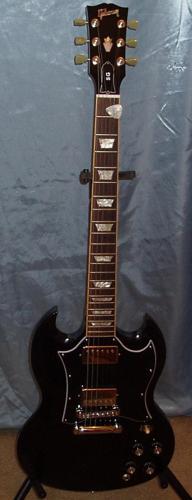 Black Gibson SG Standard Guitar