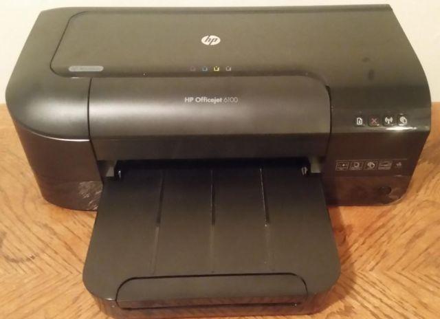 Black HP Hewlett Packard Officejet 6100 Wireless