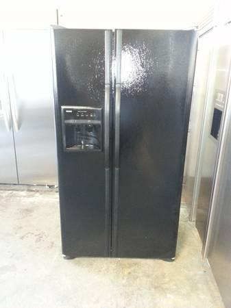 Black Kenmore Side By Side Refrigerator For Sale In