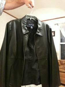 f255cfff0 BLACK LEATHER JACKET - LANE BRYANT - (WM near mill for sale in Monroe