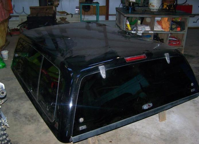 2018 F150 Camper Shell >> black leer fiberglass campershell ford f150 - (martinsville, va) for Sale in Danville, Virginia ...