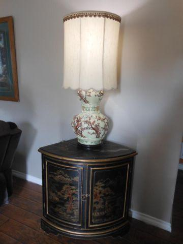 Black Oriental Corner Cabinet for Sale in Dunlap Acres, California ...