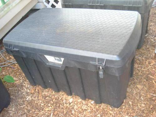 large tool boxes for sale black plastic tool box for truck garage or shed for 8906