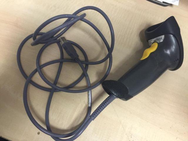 Black Symbol Ls2208 Handheld Usb Laser Barcode Scanner Comes With 6