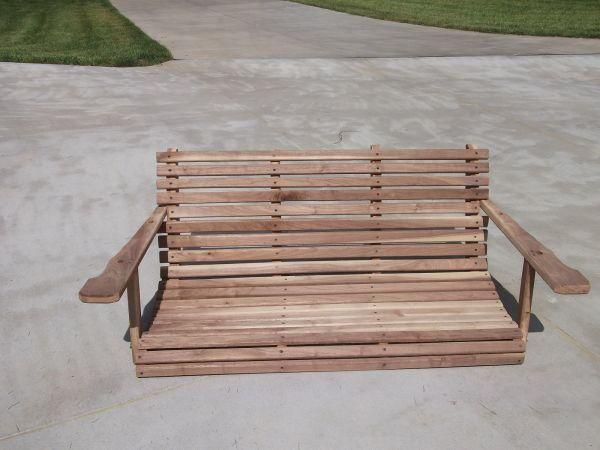Black Walnut Porch Swing Lagrange Ky For Sale In