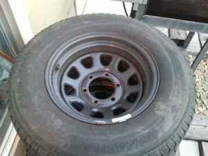Rims on Black 6 Lug Rims With Tires Obo    175  80918  In Pueblo  Colorado