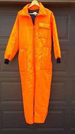 Blaze Orange One Piece Hunting Suit For Sale In Milton