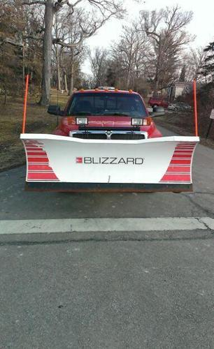 Blizzard Snow Plow Model 760-LT