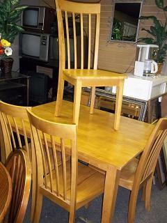 Blonde Wooden Dinete Set Uncle Ray Jay 39 S 901 Winchester Road For Sale In Lexington Kentucky