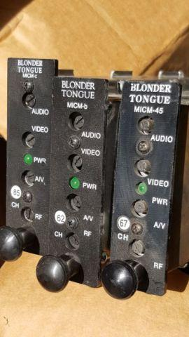 Blonder Tongue video modulators micm-
