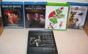 Blu-Ray dvd's - $6 (Rogue Valley-Ruch)