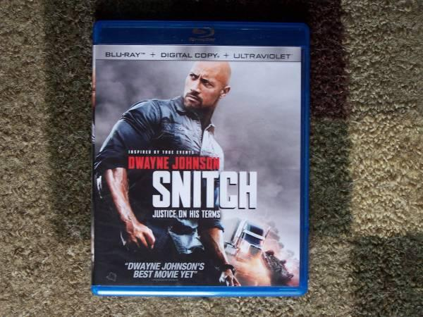 BLU-RAY DWAYNE JOHNSON SNITCH Inspired by true events -