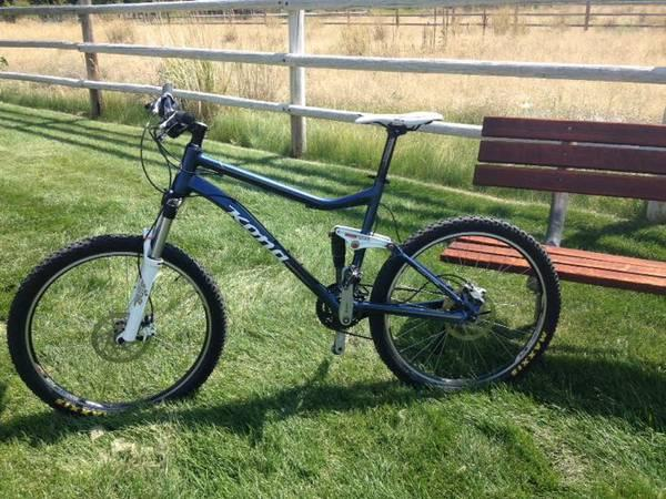 Brake dual suspension men mountain bike for sale in ketchum idaho