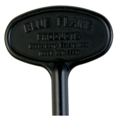 Blue Flame Universal Decor 3 in. Valve Key for 1/4 in.