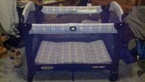 Blue Graco Pack N Play Lexington Redbank For Sale In
