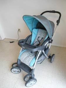 Blue Graco Stroller - $25 Calcium