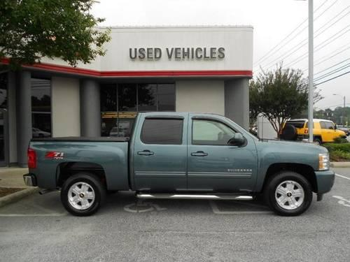 blue granite 2011 chevrolet silverado 1500 crew cab 4wd z71 sport luxu for sale in greensboro. Black Bedroom Furniture Sets. Home Design Ideas