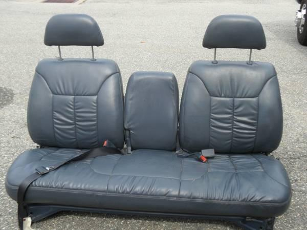 Blue Leather Seat Gm Truck 88 98 For Sale In Springfield