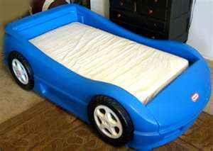 Blue Race Car Bed Little Tikes Grand Haven For Sale In