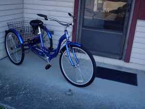 Blue Schwinn - adult trike - $190 (Baltimore)