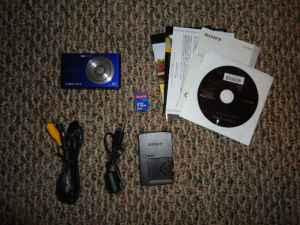 Blue Sony Cybershot Camera - $75 Florence, KY