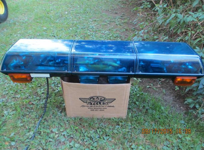 BLUE STREET HAWK LIGHT BAR