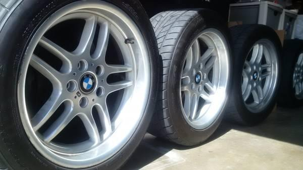 Bmw 18 Quot M Parallel Rims And Tires Type 37 Off Of E38
