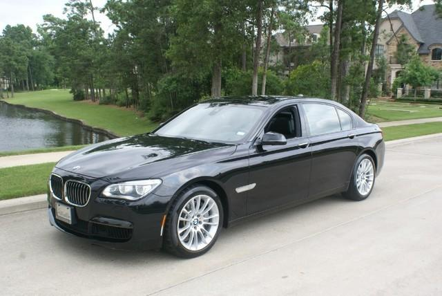 bmw 750li loaded leather premium m package nav crave luxury auto for sale in the woodlands. Black Bedroom Furniture Sets. Home Design Ideas
