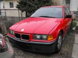 Bmw E36 318 Red Sedan 92 98 Sellersville Pa For Sale In