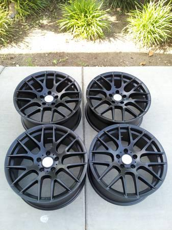 BMW Matte Black WHEELS NEW Need To SELL PONTIAC G Rims ACURA - Acura tl rims for sale