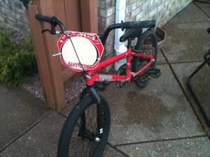 Dan's Competition Bikes Evansville In Bmx DK rage dans comp red bike