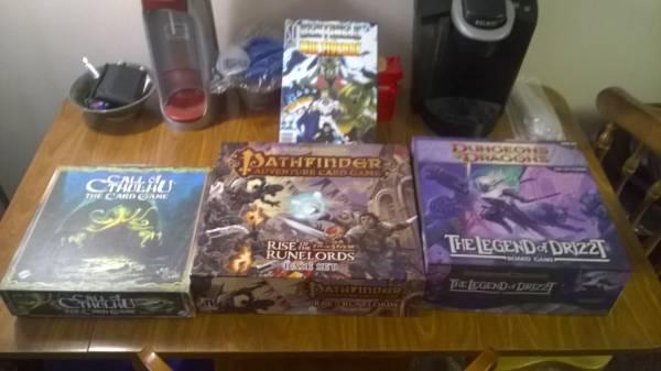 Board Games - $50