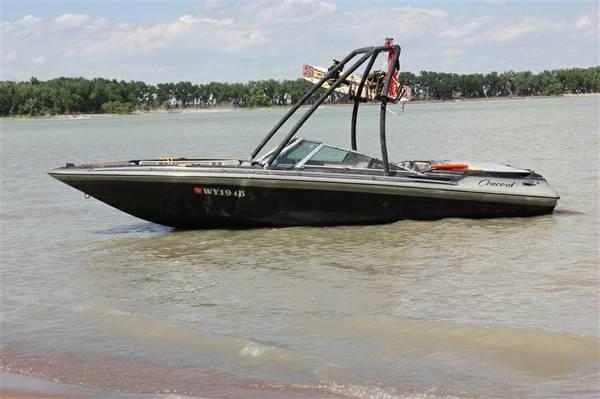 Boat 1985 Price Reduced Concord Mach 1 V8 I O For Sale