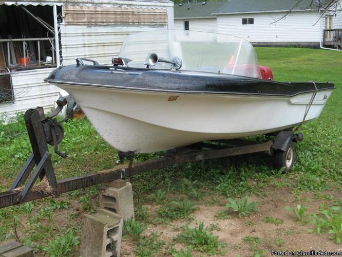 Boat and trailer for sale for sale in grand ledge for Outboard motors for sale in michigan