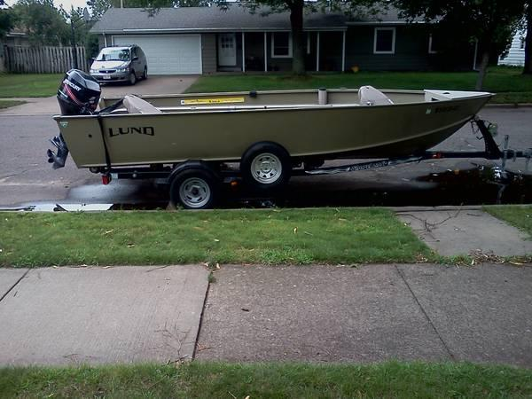 Boat for sale great for duck hunting for sale in for Outboard motors for sale in wisconsin