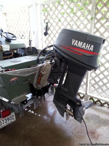 Boat motor and trailer for sale in houma louisiana for Boat motors for sale louisiana
