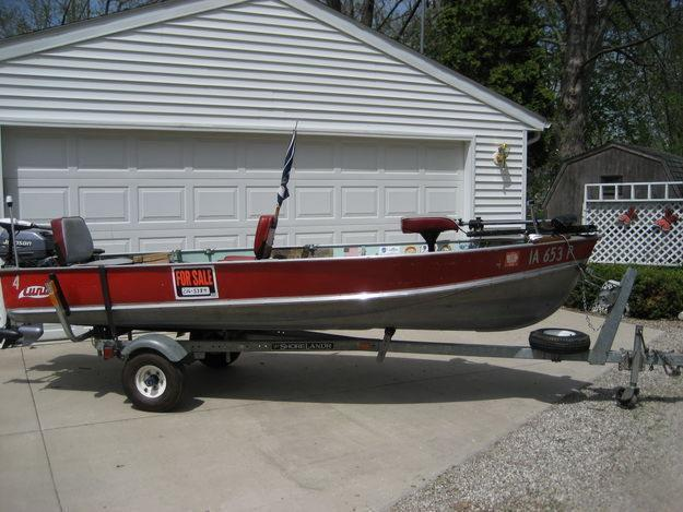 BOAT, MOTOR, TRAILER, AND ACC.