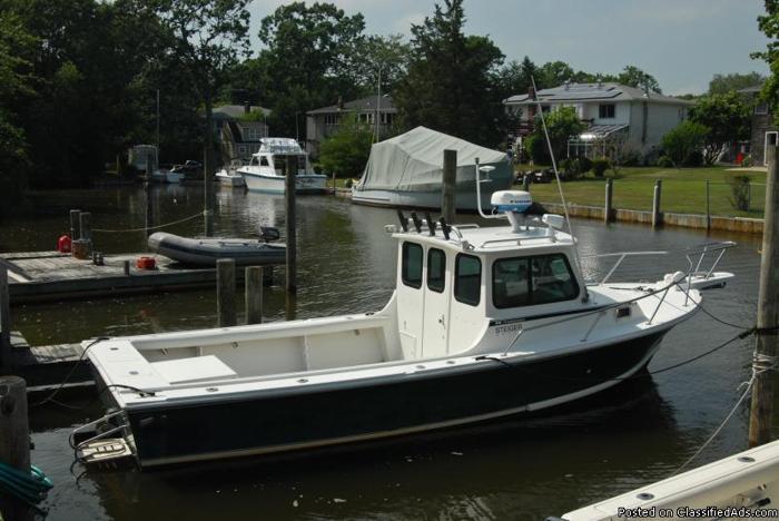 Boat, Steigercraft 25' Chesapeake Pilot House, 2002 ...