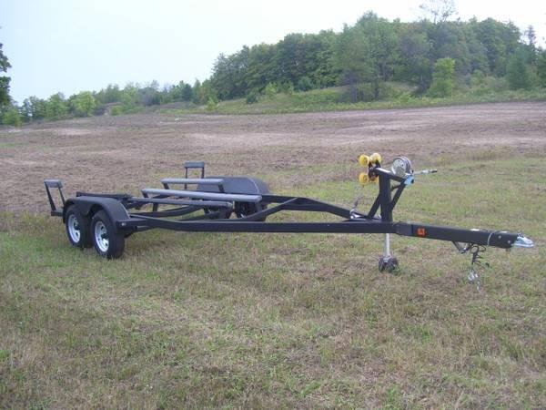 Boat Trailer Axles : Boat trailer tandem axle for sale in manton michigan