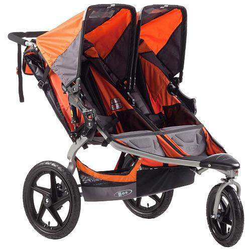 BOB Revolution SE Duallie Double Stroller - Orange