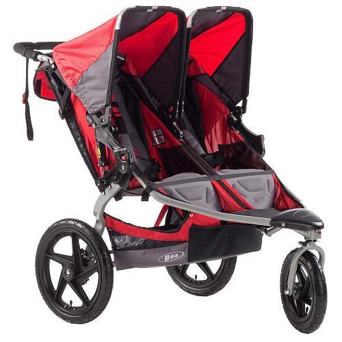 BOB Stroller Strides Fitness Duallie Double Stroller - Red