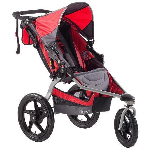 BOB Stroller Strides Fitness Stroller - Red