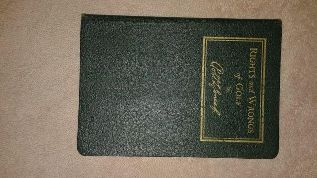 BOBBY JONES RARE GOLF BOOK