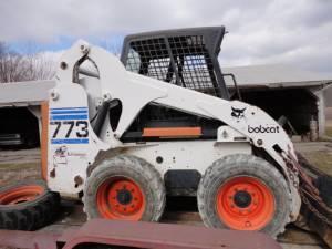 Bobcat 773 Skid Steer Loader Kubota Diesel Power - $12500 (Peru)