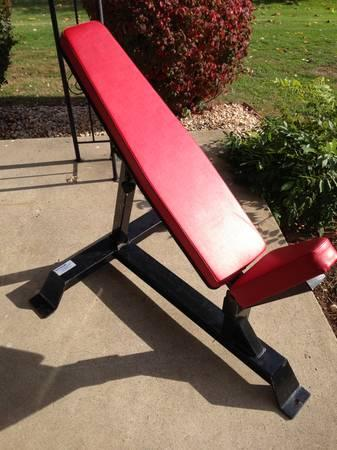 Body Master Adjustable Olympic Weight Bench For Sale In Boyertown Pennsylvania Classified