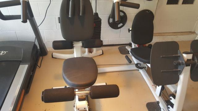 Body Solid complete home gym with additional leg press