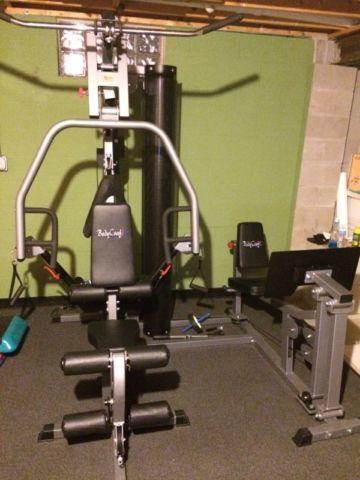 Bodycraft xpress pro home gym with leg press