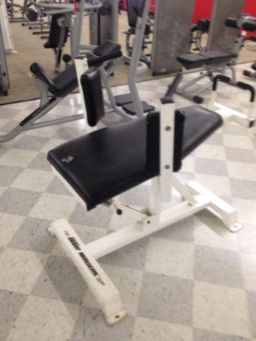 Bodymaster Adjustable Ab Bench For Sale In Gadsden