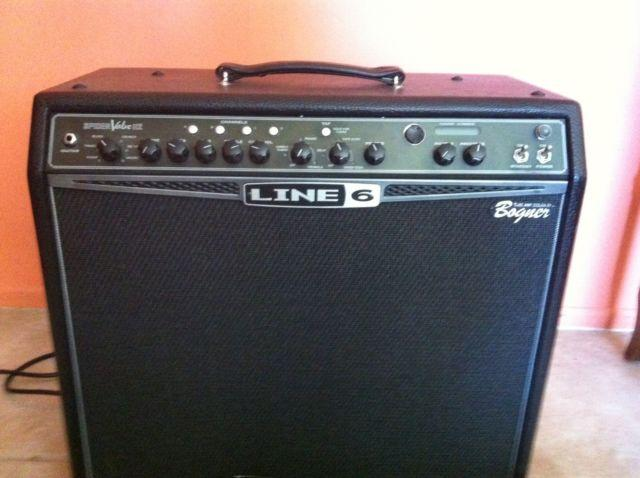 bogner line 6 spider valve 112 guitar amp with pedal board for sale in mission viejo california. Black Bedroom Furniture Sets. Home Design Ideas