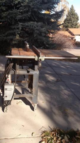 Boice Crane Commercial Table Saw ( 220v )
